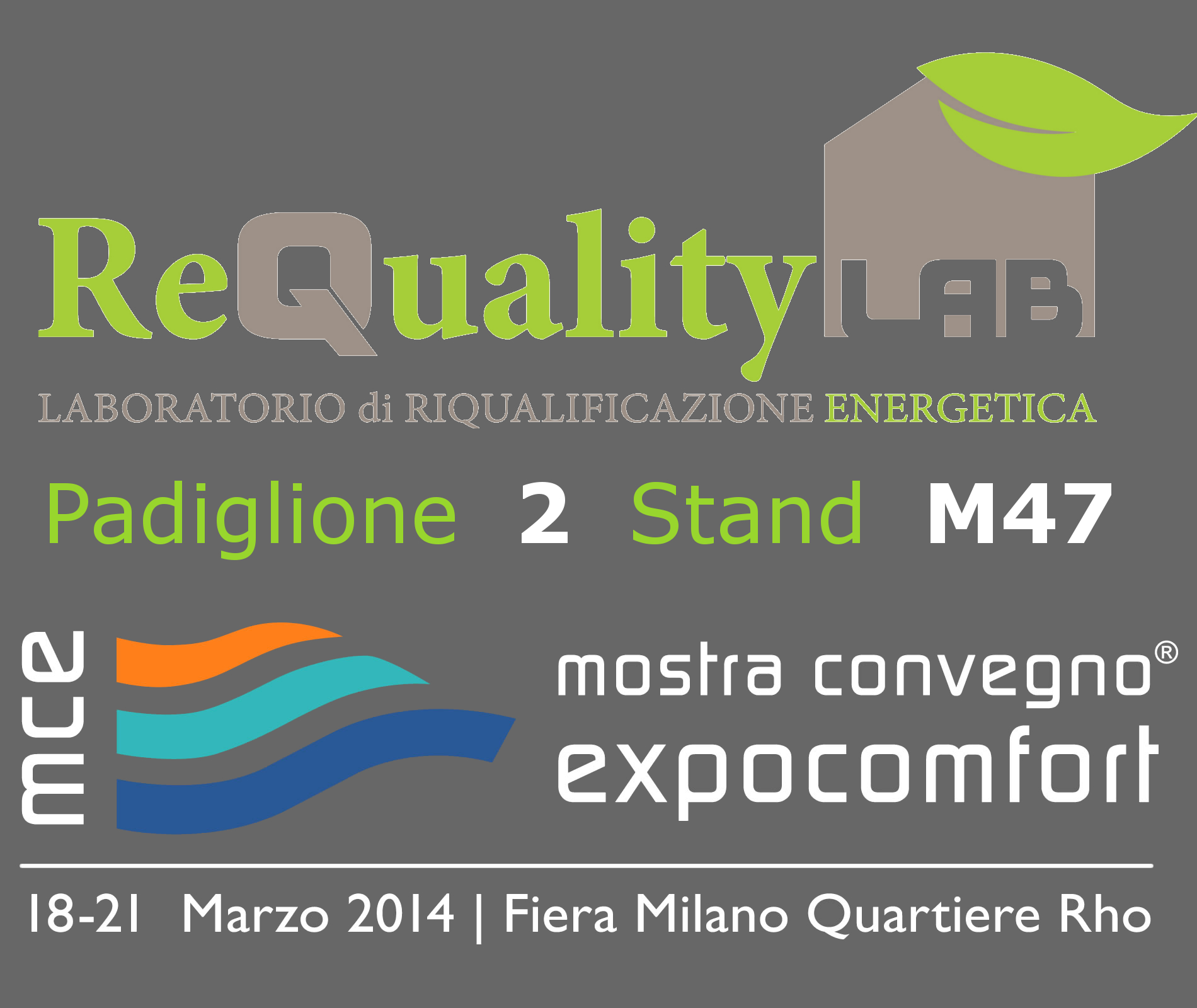 ReQuality LAB a MCE 2016